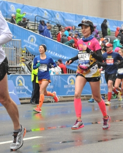 Finish Line Boston Marathon