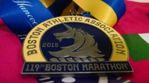 Medalla de finalista: Maratón de Boston 2015