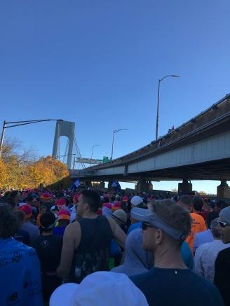 Muchos corredores ansiosos