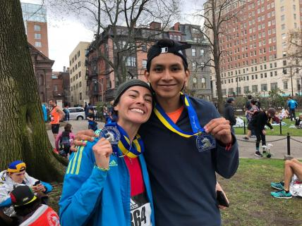 El segundo maratón que compartimos Luis y yo